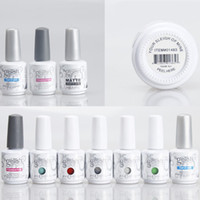 Wholesale Nail Off Polish Colors - 293 Colors 15ml Harmony Gelish Gel Polish UV Base Coat Foundation Top Coat Soak Off Nail Gel Nail Art Tools Accessories for Fedex