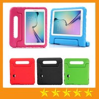 """Wholesale Kid Cover For Galaxy - Portable Kids Safe Foam Shock Proof EVA Case Handle Cover Stand for Samsung galaxy Tab 4 7"""" T230 Tab A Tab S2"""