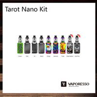 Wholesale Nano Board - Vaporesso Tarot Nano Kit 80W Tarot Nano Mod With 2500mah Battery 2ml VECO EUC Tank Leak Free Design OMNI Board 100% Original