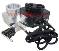"Wholesale Heat Rod - 3x5"" Rosin Press plates Double hole enail heating 6061 Aluminium plate temperature controller box with heating rod for rosin press plate"