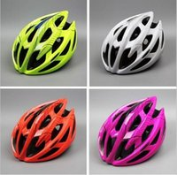 Wholesale yellow mountain helmet for sale - Group buy Bicycle Helmet Mountain Bike Ultra Light Helmets Pest Control Ride Breathable Casque The New Road Vehicles Casques One Piece lg I