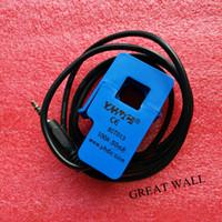 Wholesale Split Core Current Sensor - Wholesale- Non-invasive Split Core Current Transformer AC current sensor 100A SCT-013-000