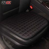 Wholesale universal colour - GLCC Car Front Seat Covers All Seasons Linen Non&Slide Pad Universal Auto Covers Mat 4 Colours 1PC Voiture Interior Accessories