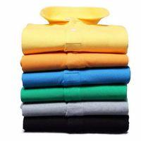 Wholesale Shirt Men Free - 2016 new polo homme embroidery logo shirt men Brand summer polo crocodilely short sleeve men polo shirts s-6xl free shipping