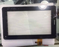 """Wholesale Knc Tablets - Wholesale- New yj031fpc-v0 touch screen panel for 7"""" Marca A+Pad KNC MD711 Tablet Digitizer Glass Sensor replacement Free Shipping"""
