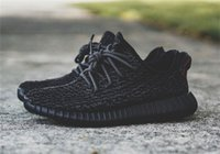 2016 350 Boost New Men Mesh Sneakers zapatillas negras piratas Kanye West Oxford Tan 350 aumentas zapatillas deportivas de baloncesto de gran tamaño 36-46