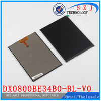 Wholesale Original inch LCD Display Panel DX0800BE34B0 BL V0 ZM80101D TYH141222 for Tablet pc LCD screen Replacement