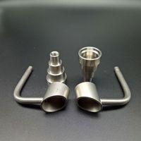 seau banger miel miel titane 18mm achat en gros de-Domeloess GR2 Titanium Nails Seaux De Miel Bubbler Banger Nails