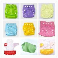 Wholesale Babyland Washable Cloth Diaper - Baby Diapers Plain Color Babyland Cloth Diaper Pockets