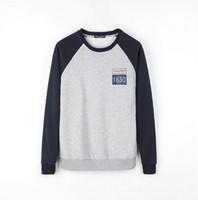 neue koreanische mode hoodie schlank großhandel-2017 neue mode frühjahr männer hoodies männlichen trainingsanzüge männer koreanische slim fit männer sweatshirt kostenloser versand
