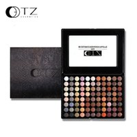 Wholesale Palette Eyeshadow 88 Shimmer - 88 Colors Earth Naked Eyeshadow Palette Makeup Set Beauty Cosmetics Professional Make Up Eye Shadow Palette TZ Brand