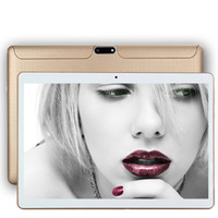 Wholesale Ips Tablets - 10-inch 1280 * 800 resolution Android tablet IPS HD quad-core ultra-thin MTK6582 1 + 16GB Memory Dual Card 3G call dual card dual standby