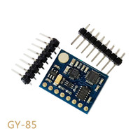 Wholesale Gy 85 - GY-85 BMP085 Sensor Modules 9 Axis Sensor Module (ITG3205 +ADXL345 + HMC5883L) 6DOF 9DOF IMU Sensor