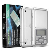 Wholesale Mini Electronic Pocket Scale g g Jewelry Diamond Scale Balance Scale LCD Display with Retail Package