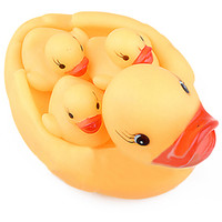 Vente en gros- Cute Baby Girl Boy Bath Bathing Classic Toys Race en caoutchouc Squeaky Ducks Set Jaune Vente 8Q4K