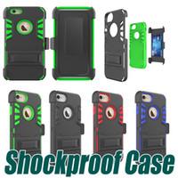 Wholesale Lg Optimus Zone - Shockproof Kickstand Clip Cases For LG Stylo 3 Plus Stylus 3 LS777 LV5 K10 2017 K20 Plus Optimus Zone 3 K4 Spree VS425 K10 Q10 V20