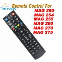Wholesale Universal Media Remote - Wholesale- Black Color Replacement mag 250 Remote Control For mag250 254 255 256 257 270 275 linux system iptv media player