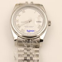 Wholesale Classic Watch Mechanical Woman - luxury brand watches Roli DAY Classic Women Automatic Mechanical Watch DATE 36mm AAA Quality watch Stainless Steel Watch royal oaks 20