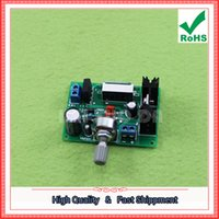 Wholesale Lm317 Voltage Regulator Power Supply - Free Shipping 2pcs LM317 power supply board regulator 317 adjustable power supply 2A with digital voltage display (H6B5)