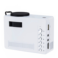Wholesale Cvbs Mini Usb - Original UNIC UC18 Mini Pico Portable 3D Projector Support 1080P video with HDMI TF Card USB CVBS LED for Home theater Cinema