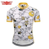 Wholesale Despicable Clothes - Crossrider 2017 hot Despicable Me Men Minions Cycling Jersey Funny Mtb Bicycle Clothing Bike Wear Clothes Short Hombre Verano Sportwear