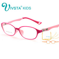 Wholesale Spectacles Frames Wholesale Kids - Wholesale- IVSTA 180 Spring TR Optical Eyeglasses Kids Frames Rubber Flexible Glasses Girls Boys Myopia Lense TR Children Spectacle 8808