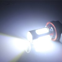 xenon-projektor licht großhandel-2 stücke H11 7,5 Watt High Power COB LED Projektor Lampe Für Autofahren Nebelscheinwerfer Auto Lichter Xenon Weiß 12 V