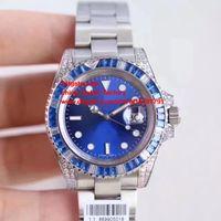 Wholesale Mens Watch Diamond Dive - NOOB Factory Maker V7 Best Edition 40mm 116619 116619LB Diamond Bezel Dive Sport Swiss ETA 2836 Movement Automatic Mens Watch Watches