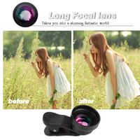 Wholesale Tool For Lens - Phone special effects lens excellent tool for selfie 17mmX2.0 extended distance lens(metal lens hood and clip are included)