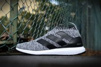 Wholesale Clear Plastic Men Shoe Box - 2016 Fashion Top Quality With Box Boots ACE16 ACE 16 PureControl Ultra Boost Ultraboost Shoes Men City Sock Shoes For Women Free shipping