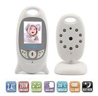 Wholesale Babysitter Camera - 2.0 inch Wireless Camera Baby Monitors with IR Nightvision Lullabies Intercom Video Babysitter Nanny Babyphone Camera VB601 free DHL