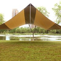 Gazebo Canopy C&ing Tent Waterproof 5-8 Person UV Protection Sunshade Tents Large Size Shelter Outdoor Holiday Family C&ing Canopy & Wholesale Large Waterproof Tents - Buy Cheap Large Waterproof ...