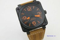 Wholesale Man S Wrist Watch - Luxury Fashion Wrist watch Wholesale BELL men watch sports Brand Automatic men 's Watches ROSS rubber strap b011