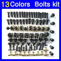 Wholesale R6 Bolt Kit - Fairing bolts full screw kit For YAMAHA R6 YZFR6 08 09 10 11 YZF-R6 YZF600 YZF R6 2008 2009 2010 2011 Body Nuts screws nut bolt kit 13Colors