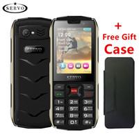 teléfono móvil del teléfono celular 32g al por mayor-Teléfono celular desbloqueado Teclado del teléfono móvil de 2,8 pulgadas Funciones teléfono 4 tarjeta SIM 4 en espera Bluetooth Linterna GPRS 3000mAh Banco de energía