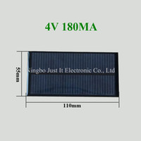 Wholesale smaller solar panels for sale - Group buy 50pcs Epoxy Resin Small Solar Panel V mA mm