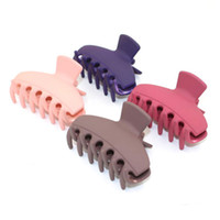Wholesale Hair Barrette Findings - Simple and easy to find a girl frosted hair grab girls FS00119