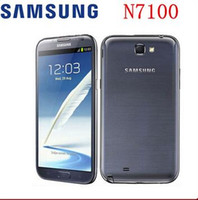 Wholesale android note 2 - Original Samsung Galaxy Note II N7100 Android Quad Core phone quot GB RAM GB ROM G NFC Refurbished