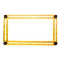 outil handyman achat en gros de-Outil de mesure de l'angle de l'outil de mesure Outil à quatre côtés de la règle de glissières pour les constructeurs Ingénieurs bricoleurs Ingénieurs