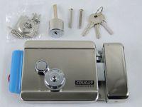 UK uk-uk - Wholesale-FREE SHIPPING Brand New Video Intercom Electronic Door Lock For Access Control System Door Phone Doorbell Door Intercom in stock