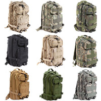 Wholesale Waterproof Molle Backpack - 2017 Brand Large Capacity 30L Military Tactical Assault Pack Backpack Army Molle Waterproof Bug Out Bag