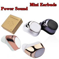 Wholesale Invisible Silicon - S630 Mini Bluetooth Earbuds Silicon Earbud Single Wireless Invisible Headphones Headset With Mic Stereo Earphone For iPhone Android