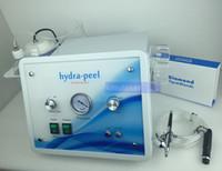 Wholesale Diamond Ultrasonic - hydradermabrasion diamond microdermabrasion oxygen jet peel ultrasonic skin clean machine