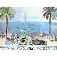 ingrosso graziosi dipinti d'arte-Dipinti ad olio colorati Raoul Dufy Passeggiata a Nizza arte moderna Paesaggi Alta qualità dipinta a mano