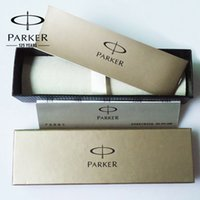 Wholesale Pencil Case Pen Box - Parker fountain rollerball ballpoint Pen Box Gifts Pencil case stationery pack Office School Supplies