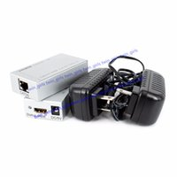 3d hdmi genişletici toptan satış-1080 P HDMI Extender CAT5 / 6 HDMI Adaptörü Genişletici HDMI Kablosu 1080 P HDTV DVD PS3 için 1080 P 3D, STB