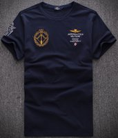 Wholesale Business Clothes Summer - New Summer Men Brand Polo Clothing Famous AERONAUTICA MILITARE Mens Polos t-Shirts Business Casual Sportswear Breathable Air Force One