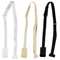 Wholesale Black Bra Extenders - 3 PCS a set Low Back Backless Adapter Converter Bra Strap Fully Adjustable Backless Extender low back bra strap 400sets