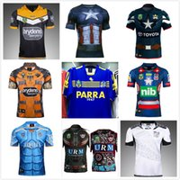 Wholesale Browning Eagle - 17 18 New Zealand rugby Jersey Parramatta Eels Fiji Manly Sea Eagles Queensland Cowboys Captain America Titans West Tiger Newcastle Knights