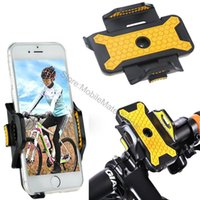 Wholesale Celular Gps - Top Quality Motorcycle Phone Holder Mobile Cell Smartphone Gps Accessory Bike Bicycle Handlebar Mount Stand Suporte Celular For Xiaomi Redmi